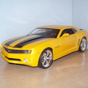 '06 Camaro. My wife's because she liked when Bumblebee as the '74 Camaro scanned the other one.