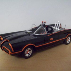 '66 Batmobile from the show/movie/ I watched the reruns in the early 70's and have the 1967 movie on disc.