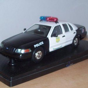 '99 Crown Vic Cleveland, Ohio cop 1/24