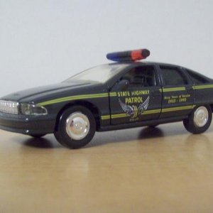 '93 Caprice OSHP 1/43 I bought this in Illinois of all places on vacation in 1994.