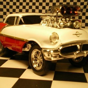 56 OLDS GASSER RED WHITE 001